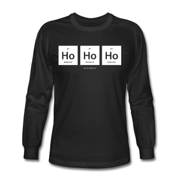 """Ho Ho Ho"" - Men's Long Sleeve T-Shirt"