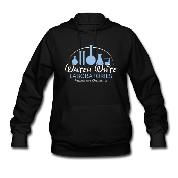 """Walter White Laboratories"" - Women's Sweatshirt black / S - LabRatGifts - 1"