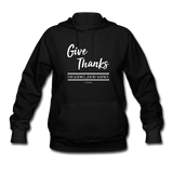 """Give Thanks For Science"" - Women's Hoodie"