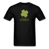 """Lucky Chemist"" - Men's T-Shirt black / S - LabRatGifts - 15"