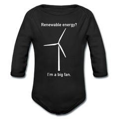 Baby Alternative Energy Long Sleeve One Pieces