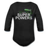 """Forget Lab Safety"" - Baby Long Sleeve One Piece black / 6 months - LabRatGifts - 1"