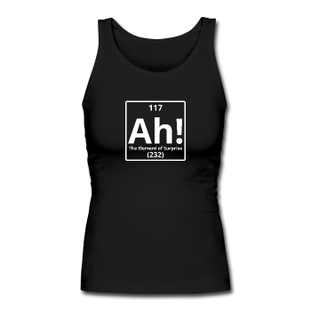 """Ah! The Element of Surprise"" - Women's Tank Top black / S - LabRatGifts - 1"