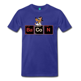 """BaCoN Periodic Table"" - Men's T-Shirt royal blue / S - LabRatGifts - 7"