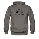 """In Science We Trust"" (black) - Men's Sweatshirt asphalt / S - LabRatGifts - 4"