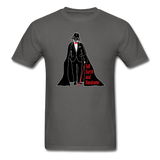 """Tall Darth and Handsome"" - Men's T-Shirt charcoal / S - LabRatGifts - 1"