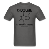 """Chocolate"" - Men's T-Shirt charcoal / S - LabRatGifts - 4"