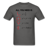 """All You Need is Love"" - Men's T-Shirt charcoal / S - LabRatGifts - 4"