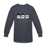 """Heavy Metals"" - Kids' Long Sleeve T-Shirt navy / XS - LabRatGifts - 2"