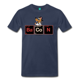"""BaCoN Periodic Table"" - Men's T-Shirt navy / S - LabRatGifts - 6"