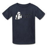 """I had Friends on that Death Star"" - Kids' T-Shirt navy / XS - LabRatGifts - 6"
