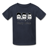 """Heavy Metals"" - Kids' T-Shirt navy / XS - LabRatGifts - 4"