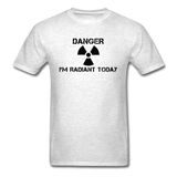 """Danger I'm Radiant Today"" - Men's T-Shirt light oxford / S - LabRatGifts - 10"
