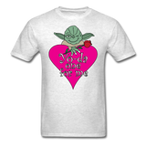 """Yo-da one for me"" - Men's T-Shirt light oxford / S - LabRatGifts - 19"