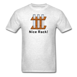 """Nice Rack"" - Men's T-Shirt light oxford / S - LabRatGifts - 9"