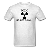 """Toxic Do Not Touch"" - Men's T-Shirt light oxford / S - LabRatGifts - 9"
