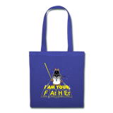"""I Am Your Father"" - Tote Bag royalblue / One size - LabRatGifts - 2"