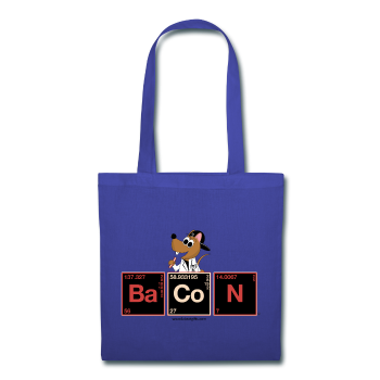 """BaCoN Periodic Table"" - Tote Bag royalblue / One size - LabRatGifts - 1"