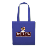 """WINe Periodic Table"" - Tote Bag royalblue / One size - LabRatGifts - 2"