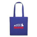 """Evilution"" - Tote Bag royalblue / One size - LabRatGifts - 2"