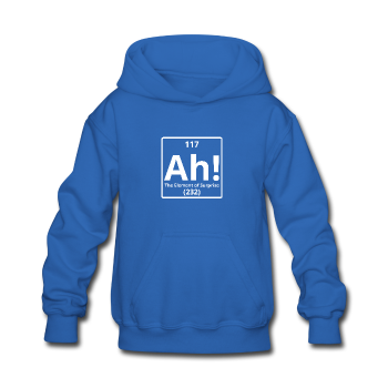 """Ah! The Element of Surprise"" - Kids' Sweatshirt royal blue / S - LabRatGifts - 1"
