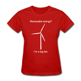 """I'm a Big Fan"" - Women's T-Shirt red / S - LabRatGifts - 4"