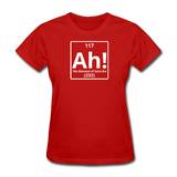 """Ah! The Element of Surprise"" - Women's T-Shirt red / S - LabRatGifts - 5"