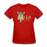 """Yo-Da One for Me"" - Women's T-Shirt red / S - LabRatGifts - 5"