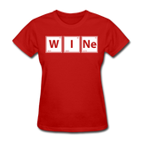 """WINe"" - Women's T-Shirt red / S - LabRatGifts - 3"