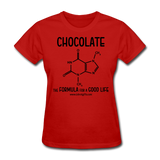 """Chocolate"" - Women's T-Shirt red / S - LabRatGifts - 4"