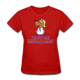Women's T-Shirt red / S - LabRatGifts - 12