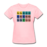"""Lady Gaga Periodic Table"" - Women's T-Shirt pink / S - LabRatGifts - 11"