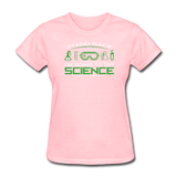 """Stand Back"" - Women's T-Shirt pink / S - LabRatGifts - 8"