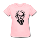 """Albert Einstein"" - Women's T-Shirt pink / S - LabRatGifts - 2"