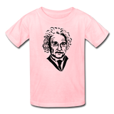"""Albert Einstein"" - Kids' T-Shirt pink / XS - LabRatGifts - 2"