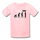 """Stop Following Me"" - Kids' T-Shirt pink / XS - LabRatGifts - 2"