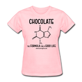 """Chocolate"" - Women's T-Shirt pink / S - LabRatGifts - 2"