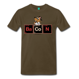 """BaCoN Periodic Table"" - Men's T-Shirt noble brown / S - LabRatGifts - 4"