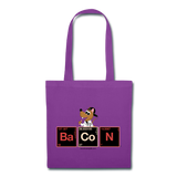 """BaCoN Periodic Table"" - Tote Bag purple / One size - LabRatGifts - 2"
