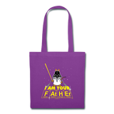 """I Am Your Father"" - Tote Bag purple / One size - LabRatGifts - 3"