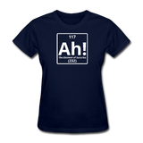 """Ah! The Element of Surprise"" - Women's T-Shirt navy / S - LabRatGifts - 1"