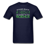 """Stand Back"" - Men's T-Shirt navy / S - LabRatGifts - 2"