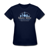 """Walter White Laboratories"" - Women's T-Shirt navy / S - LabRatGifts - 2"