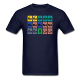 """Lady Gaga Periodic Table"" - Men's T-Shirt navy / S - LabRatGifts - 2"