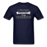 """I Found this Humerus"" - Men's T-Shirt navy / S - LabRatGifts - 11"