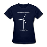 """I'm a Big Fan"" - Women's T-Shirt navy / S - LabRatGifts - 7"