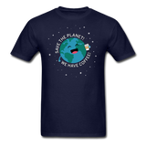 """Save the Planet"" - Men's T-Shirt navy / S - LabRatGifts - 2"