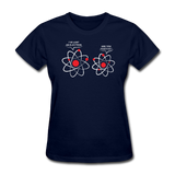 """I've Lost an Electron"" - Women's T-Shirt navy / S - LabRatGifts - 1"