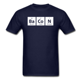 """BaCoN"" - Men's T-Shirt navy / S - LabRatGifts - 5"