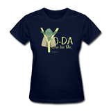 """Yo-Da One for Me"" - Women's T-Shirt navy / S - LabRatGifts - 2"